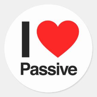 i love passive sticker