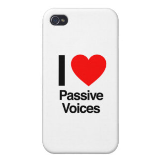 i love passive voices iPhone 4 cover
