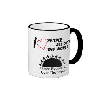 I love People Ringer Mug