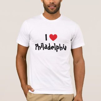 I Love Philadelphia T-Shirt