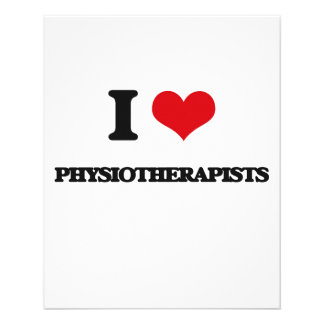 I love Physiotherapists Full Color Flyer