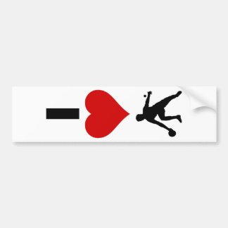 I Love Ping Pong (Vertical) Bumper Stickers