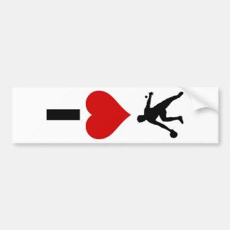 I Love Ping Pong (Vertical) Bumper Sticker