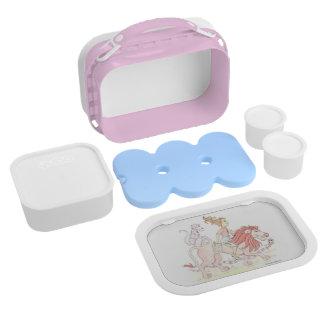 I love PINK lunchbox custom