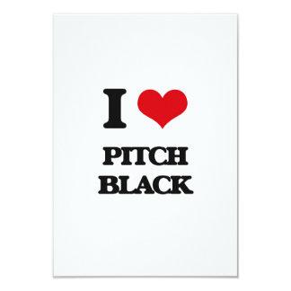 "I Love Pitch Black 3.5"" X 5"" Invitation Card"