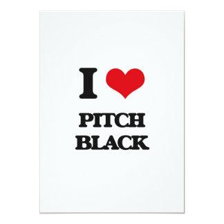 "I Love Pitch Black 5"" X 7"" Invitation Card"