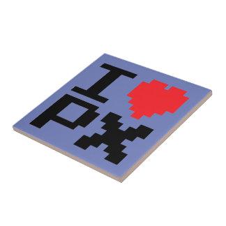 I Love Pixels Tile