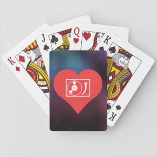 I Love Playing Records Playing Cards