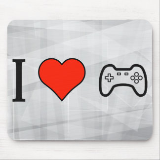 I Love Playing Videogames Mouse Pad