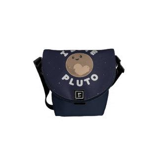 I Love Pluto Courier Bag