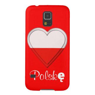 I love Poland - Kocham Polskę - in Polish Case For Galaxy S5