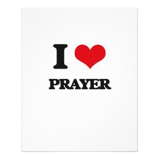 I Love Prayer Custom Flyer