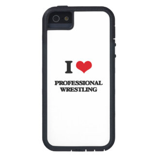I Love Professional Wrestling iPhone 5 Case