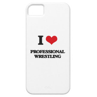 I Love Professional Wrestling iPhone 5 Cases