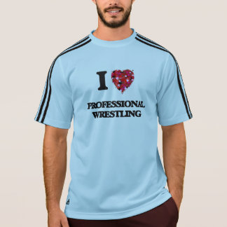 I Love Professional Wrestling Tshirt