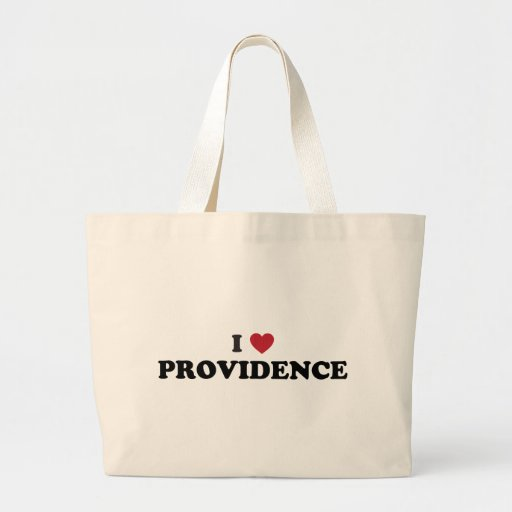 I Love Providence Rhode Island Tote Bags