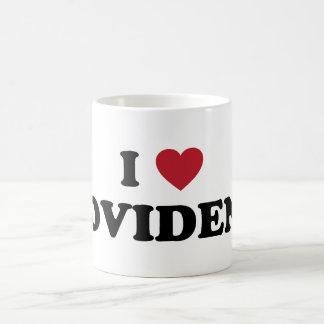 I Love Providence Rhode Island Basic White Mug