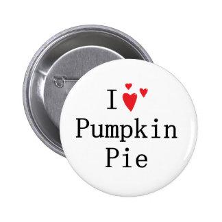 I love Pumpkin Pie Button