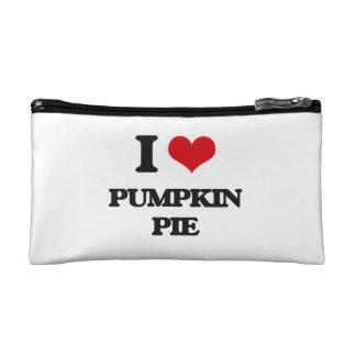 I Love Pumpkin Pie Makeup Bag