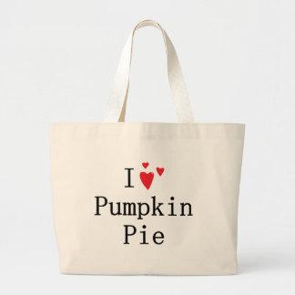 I love Pumpkin Pie Tote Bag