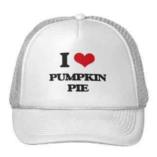 I Love Pumpkin Pie Trucker Hat