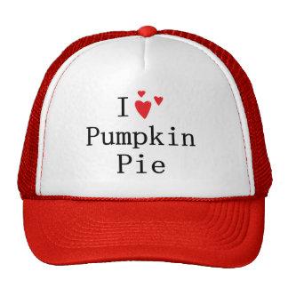I love Pumpkin Pie Hats