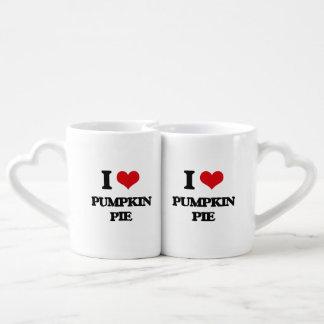 I Love Pumpkin Pie Lovers Mug