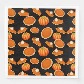 I Love Pumpkin Pie Paper Napkins
