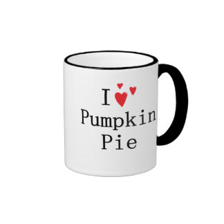 I love Pumpkin Pie Ringer Mug