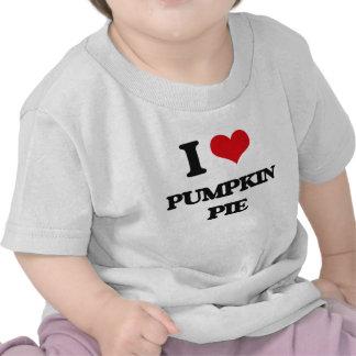 I Love Pumpkin Pie T-shirt