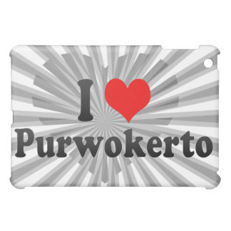 I Love Purwokerto, Indonesia Cover For The iPad Mini
