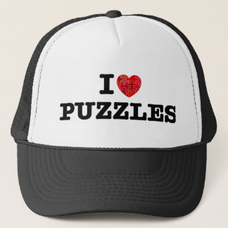 I Love Puzzles Hat