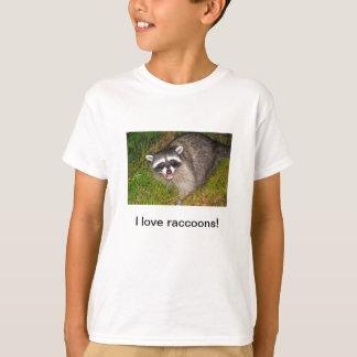 I Love Raccoons Tee-shirt T-Shirt