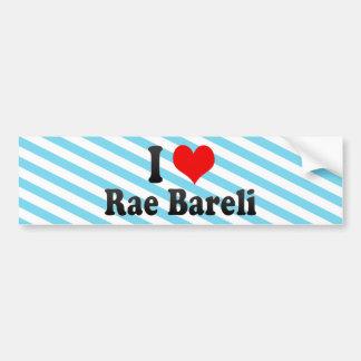 I Love Rae Bareli, India Bumper Sticker