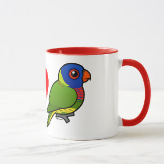 I Love Rainbow Lorikeets Mug