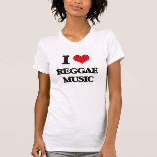 I love Reggae Music Tee Shirt