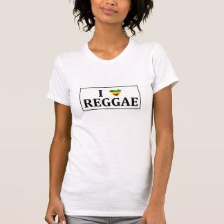 I Love Reggae T Shirt