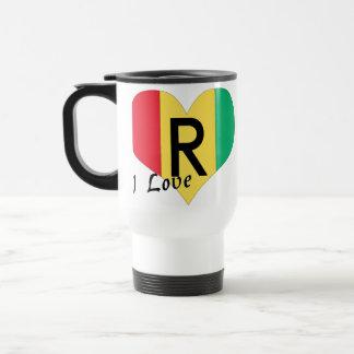 I love Rwanda Travel Mug