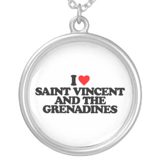 I LOVE SAINT VINCENT AND THE GRENADINES NECKLACE