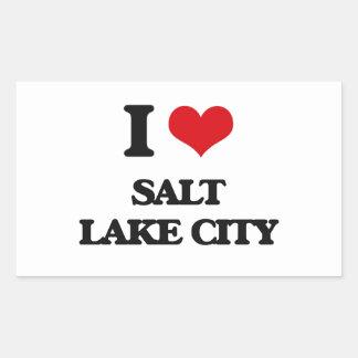 I love Salt Lake City Sticker