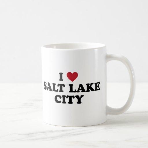 I Love Salt Lake City Utah Mugs