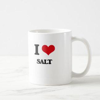 I Love Salt Mugs