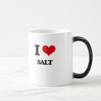I Love Salt Coffee Mug