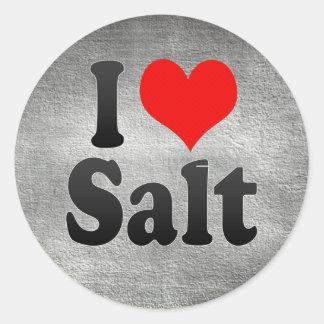 I Love Salt, Spain. Me Encanta Salt, Spain Stickers