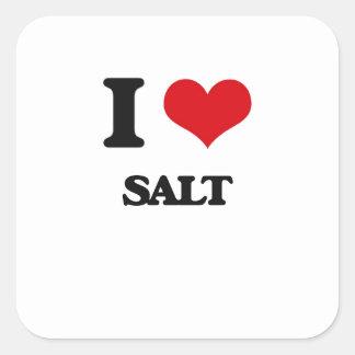 I Love Salt Stickers