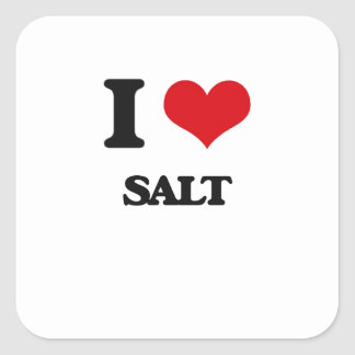 I Love Salt Sticker