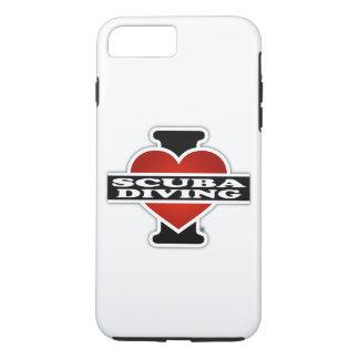 I Love Scuba Diving iPhone 8 Plus/7 Plus Case
