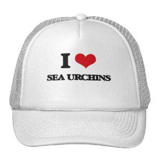 I love Sea Urchins Mesh Hat