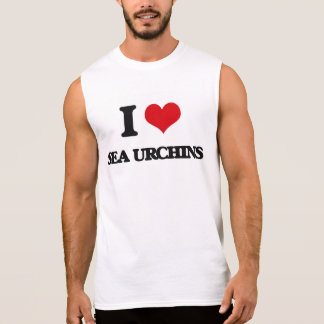 I love Sea Urchins Sleeveless Shirts
