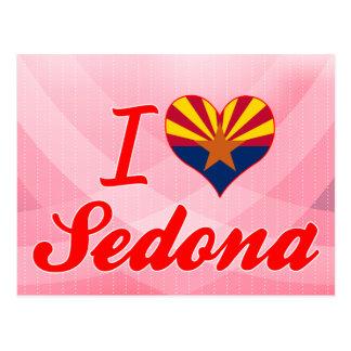 I Love Sedona, Arizona Postcard